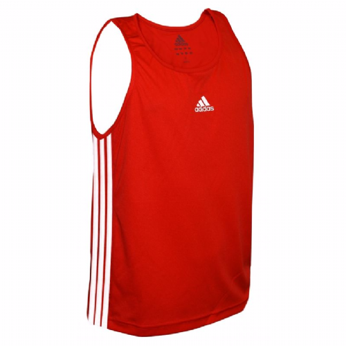 Adidas Kids Base Punch Boxing Vest - Red